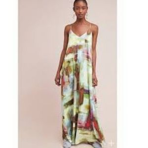 Anthropologie Dresses - Anthropologie NICOLE MILLER Maxi Large